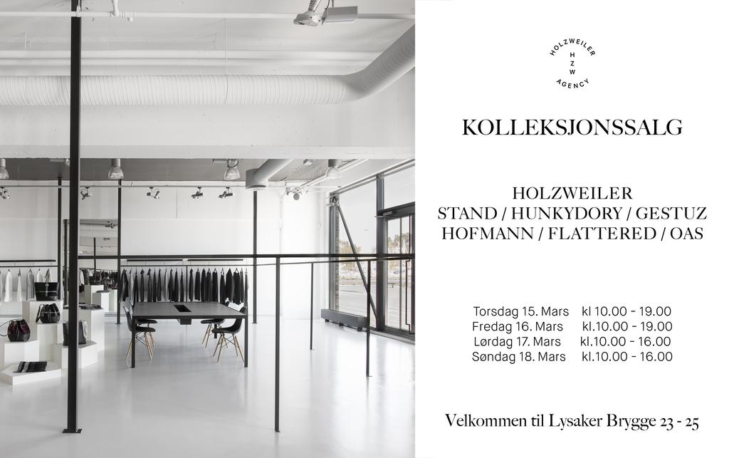 Cover kolleksjonssalg invitasjon mars 2018