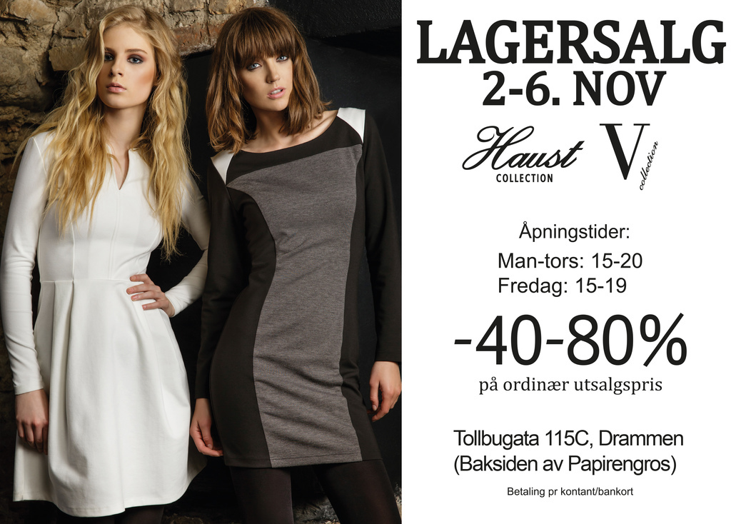 93277d80 LAGERSALG - Lagersalg Haust Collection
