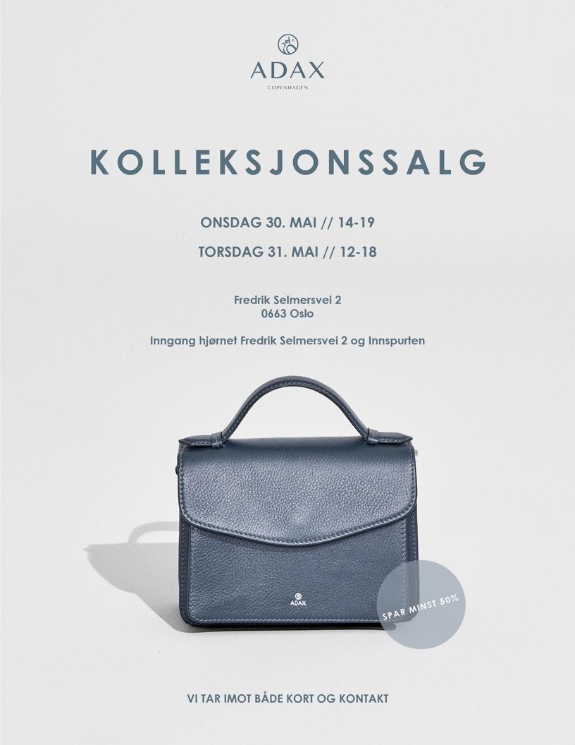 Cover invitasjon lagersalg mai 2018