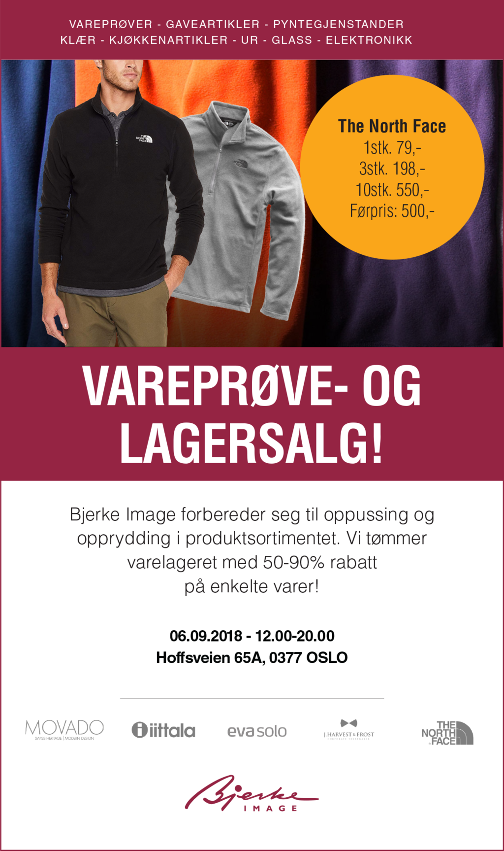 Cover lagersalg