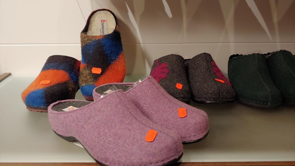 LAGERSALG Kolleksjonssalg av sko og tøfler fra Berkemann