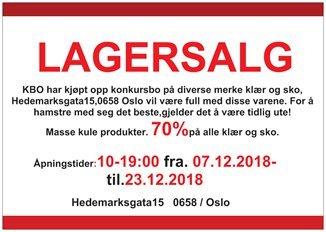 1a7519d0 Utløpt · BARN · HERRE · TEKSTILER · SPORT · BILLIG · HERRESKO · DAMESKO ·  DESIGNERMERKE · MERKEKLÆR · NIKE · 70% LAGERSALG ...