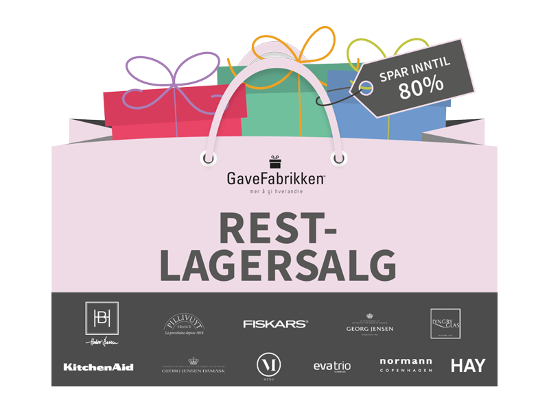 Cover restlagersalg 2019  banner for lagersalg.no