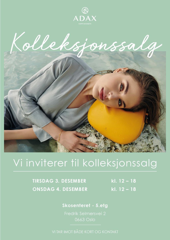Cover kolleksjonssalg invitasjon 2019