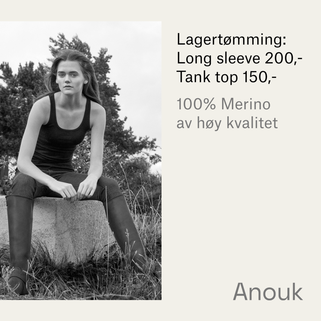 Cover anouk sort tank