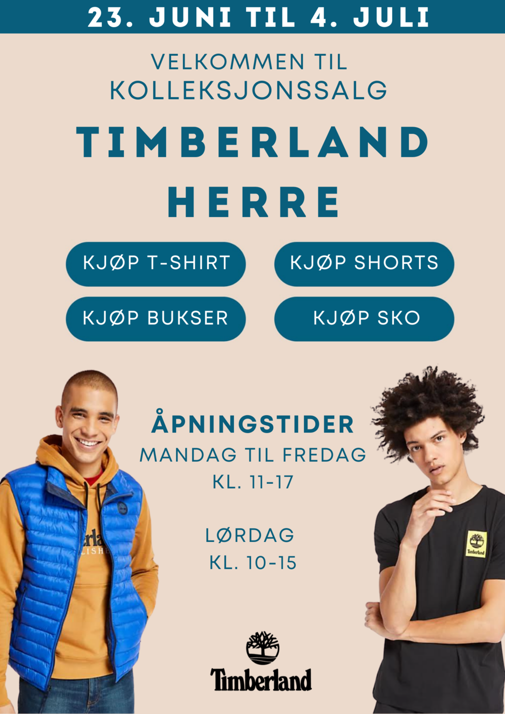 Cover timberland