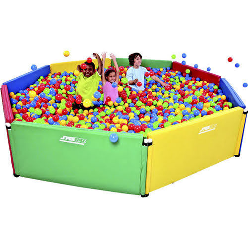 Cover multi sensory ball pit pentagon 72 x 78 includes 3500 balls