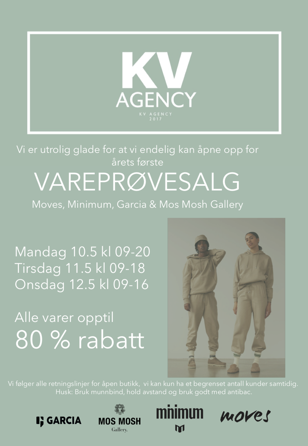Cover kv agency varepr%c3%b8vesalg mai 21 lagersalg 2