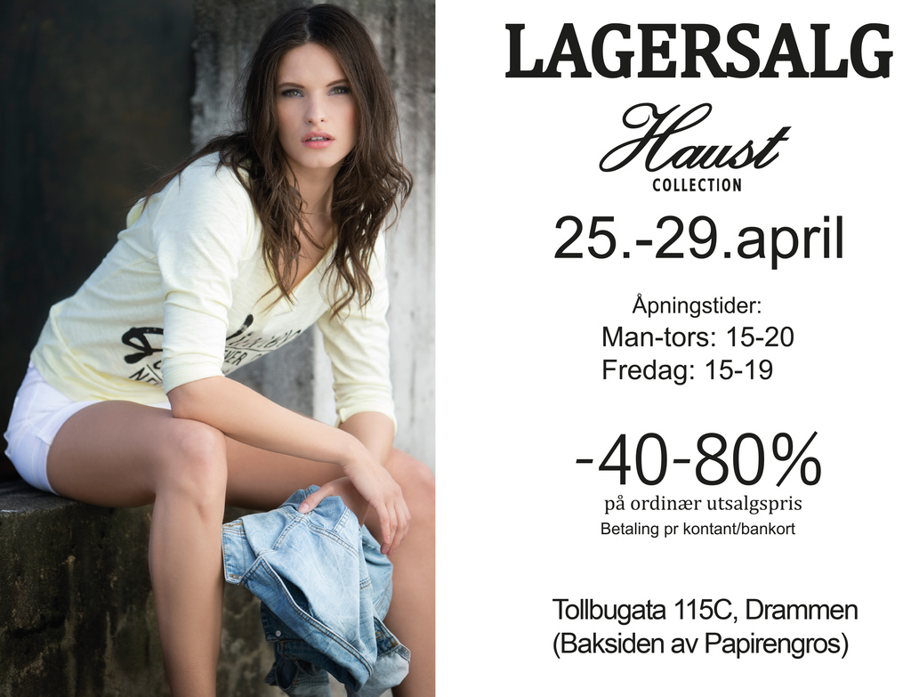 Lagersalg.no april 2016
