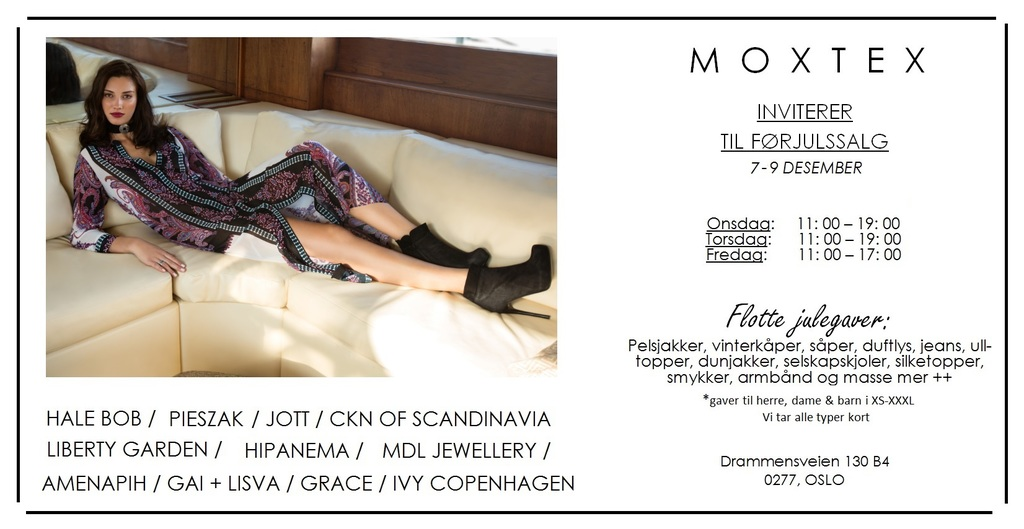 Lagersalg.no invite 7 9 desember
